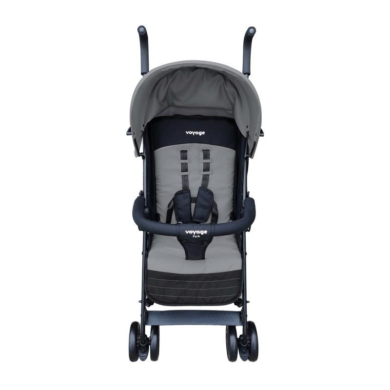 Carrinho de Bebê Park Voyage Cinza