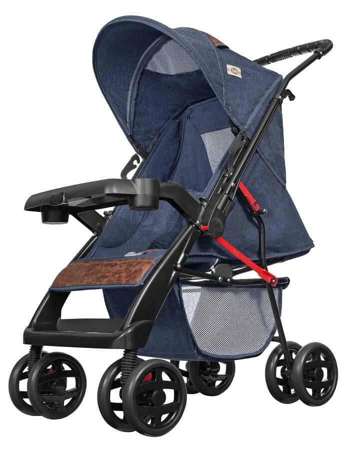 Carrinho de Bebê Tutti Baby Thor Jeans