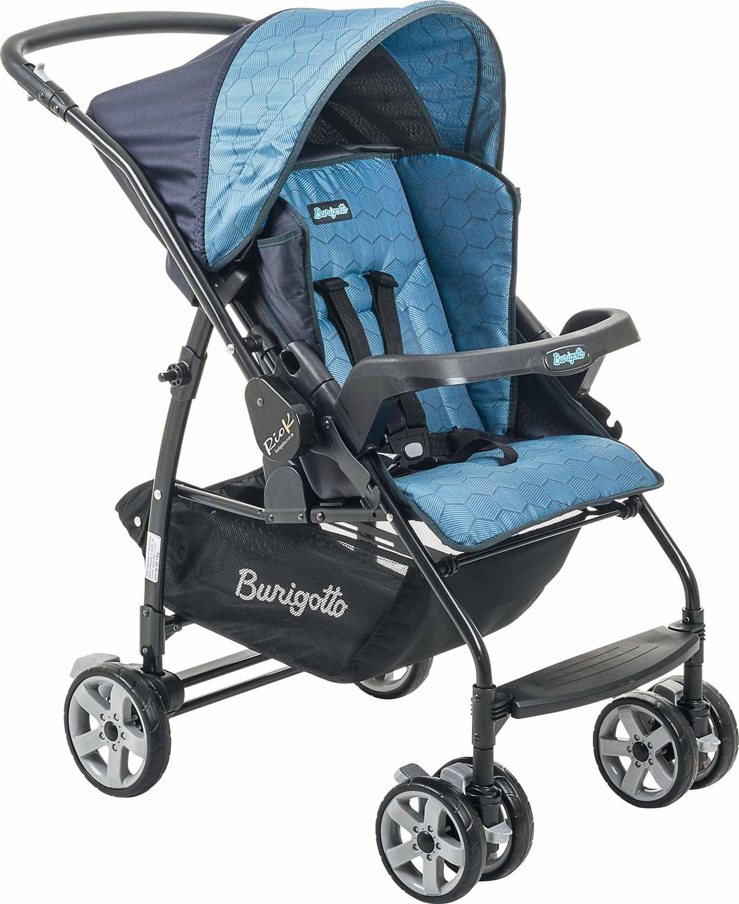 Carrinho Bebê Rio K-Geo Azul Burigotto