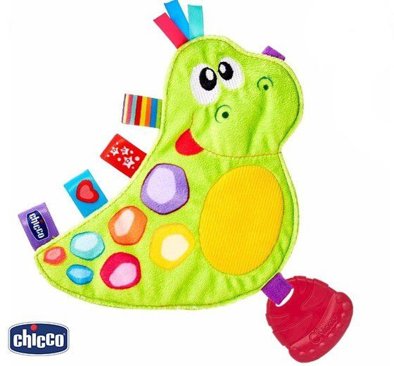 Chocoalho Dino Divertido Chicco Baby Senses