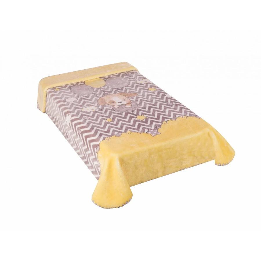 Cobertor Le Petit Cachorrinho Amarelo Colibri