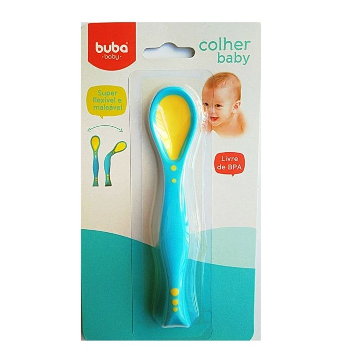 Colher Baby Silicone Buba