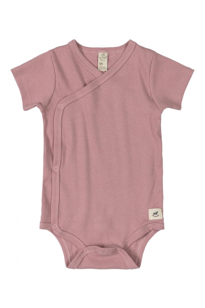 Conjunto Body Curto Nature Rosa Up Baby