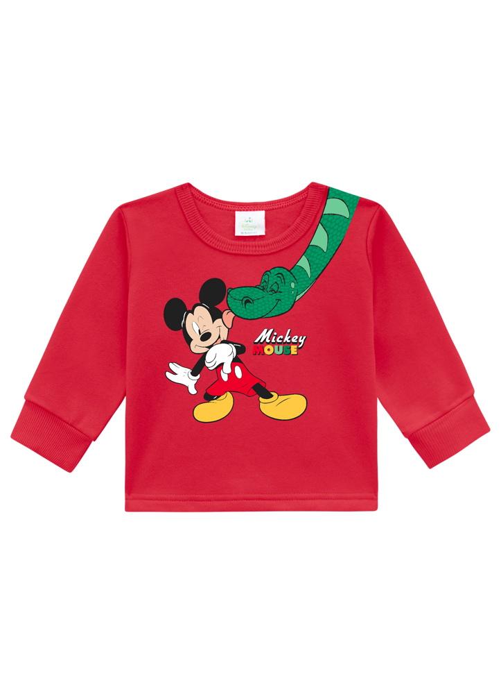 Conjunto Mickey Moletom Masculino 123 Brandili