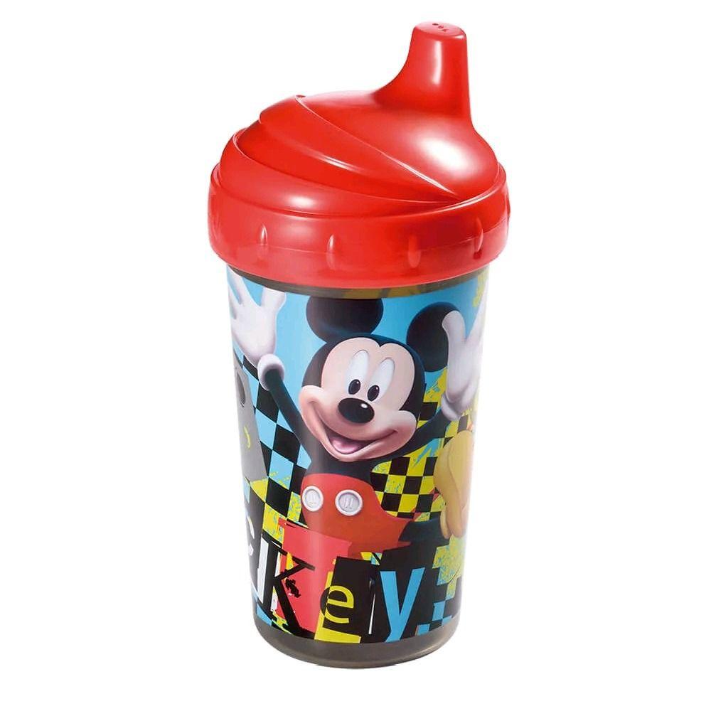 Copo Infantil 300Ml 18M+ Bico Rígido Menino Mickey Mouse Multikis
