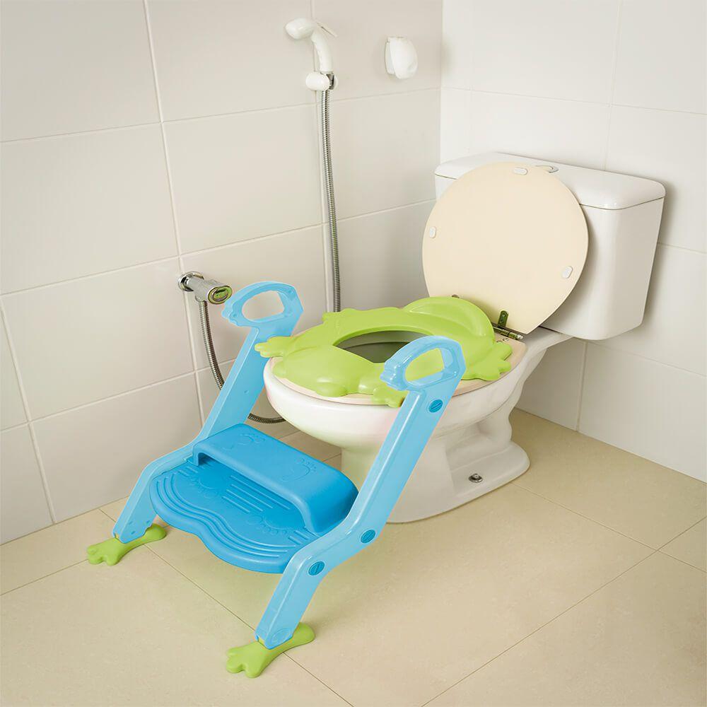 Redutor de Assento Com Escada Menino Multikids Baby