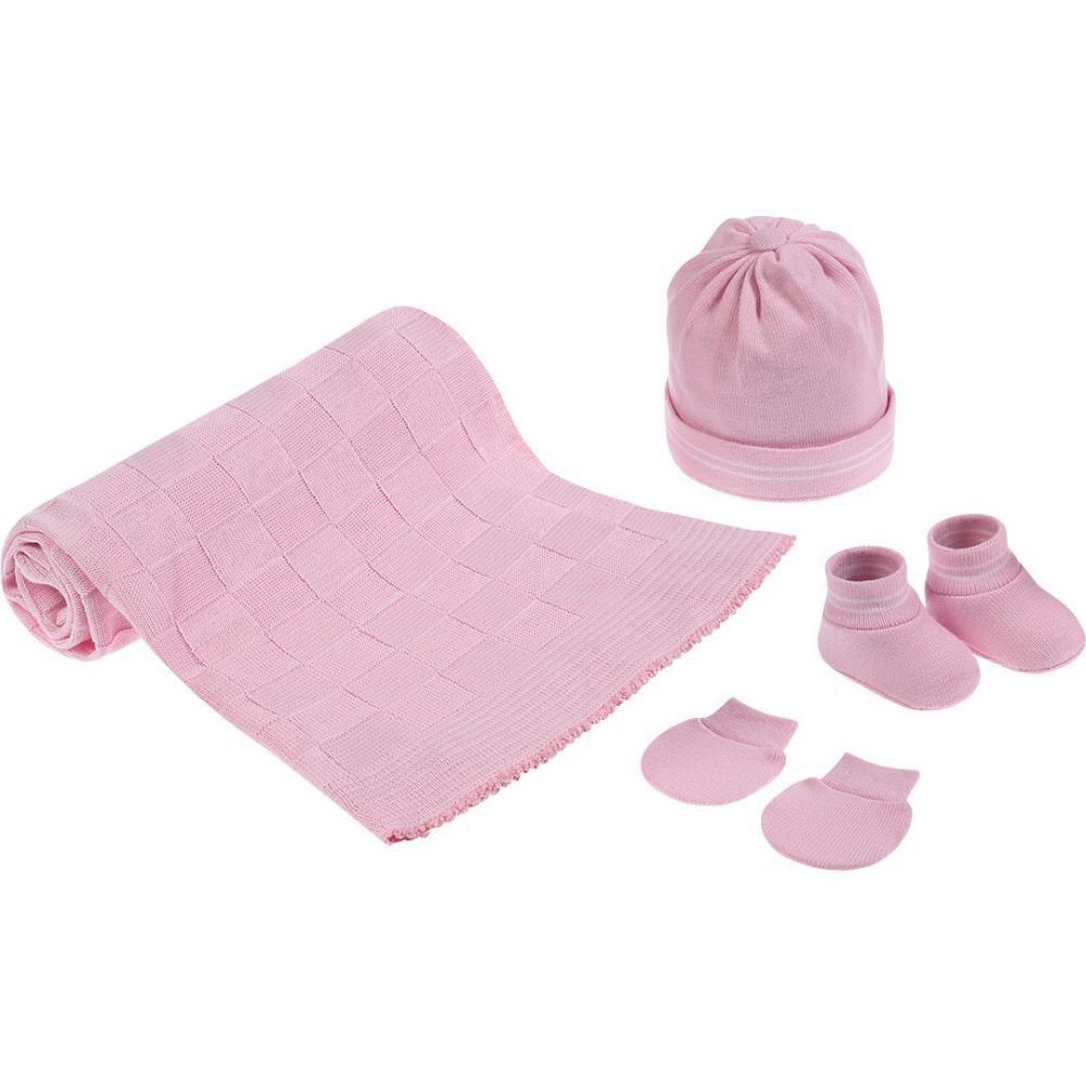 Kit Bem vindo ao Mundo Rosa Pimpolho
