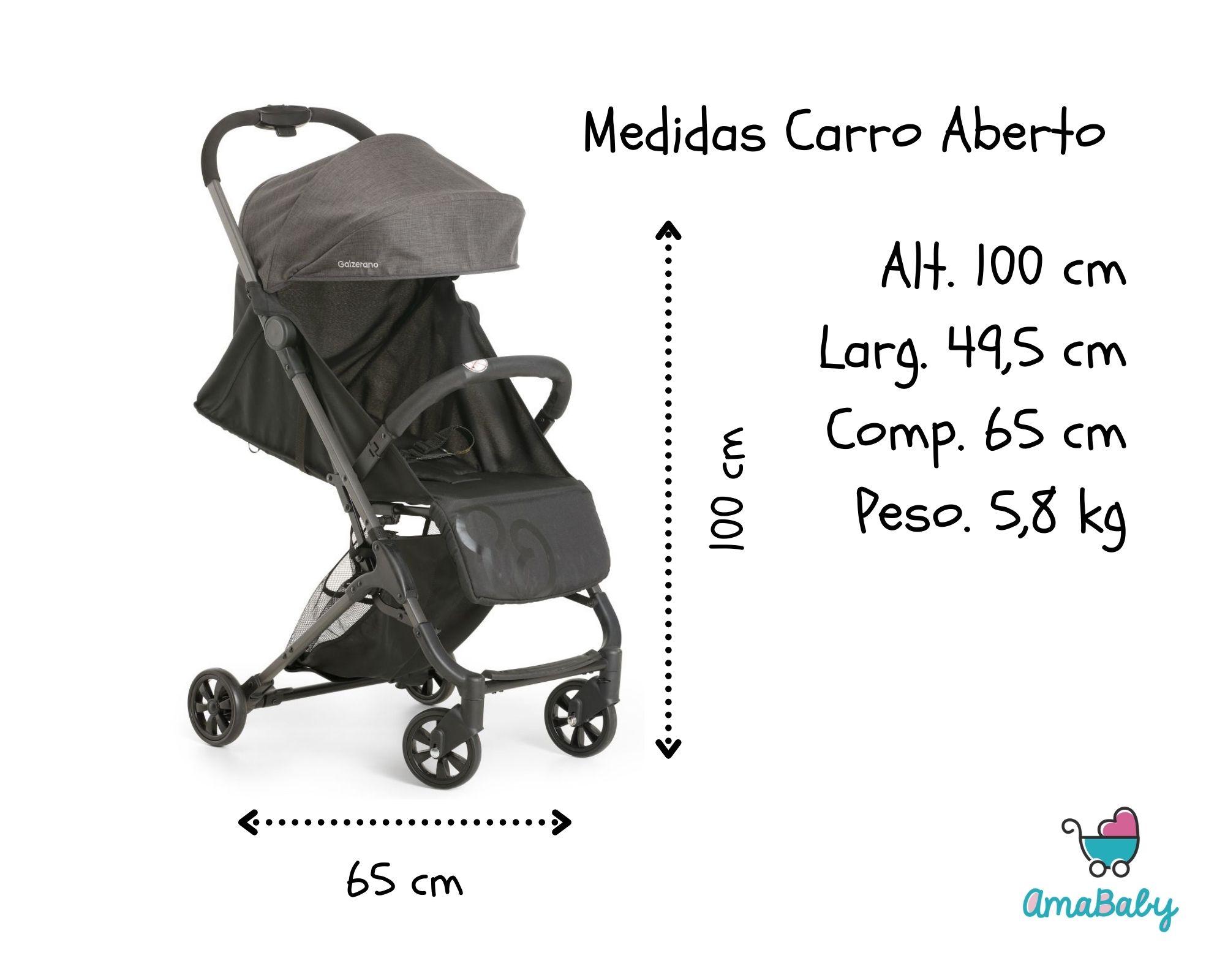 Kit Carrinho Bebê Duolee Gêmeos + Bebe Conforto Galzerano