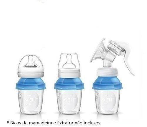 Kit Copos Armazenamento Leite Materno SCF618/10