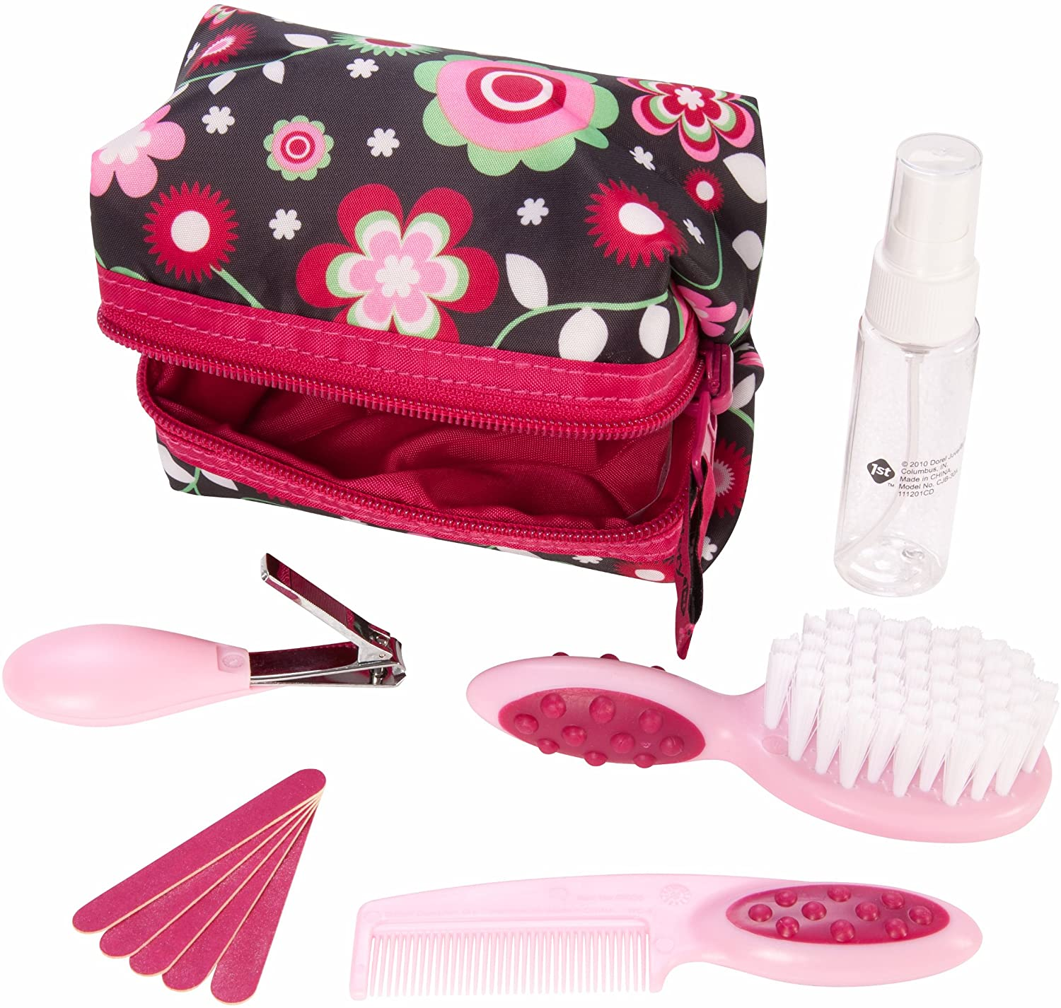 Kit Higiene e Beleza Rosa Safety 1st