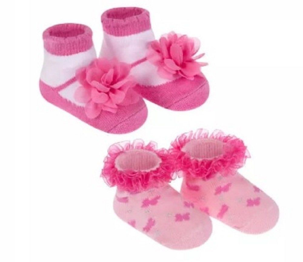 Kit Meia Festinha Pimpolho Rosa Pink