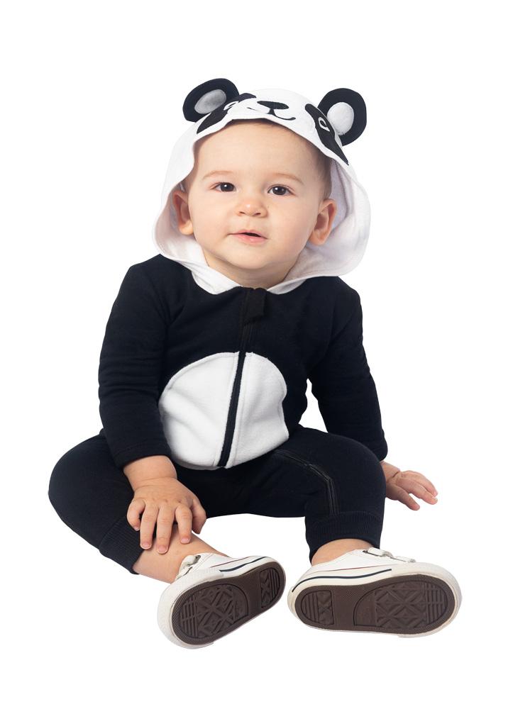 Macacão Panda Moletom Masculino Brandili