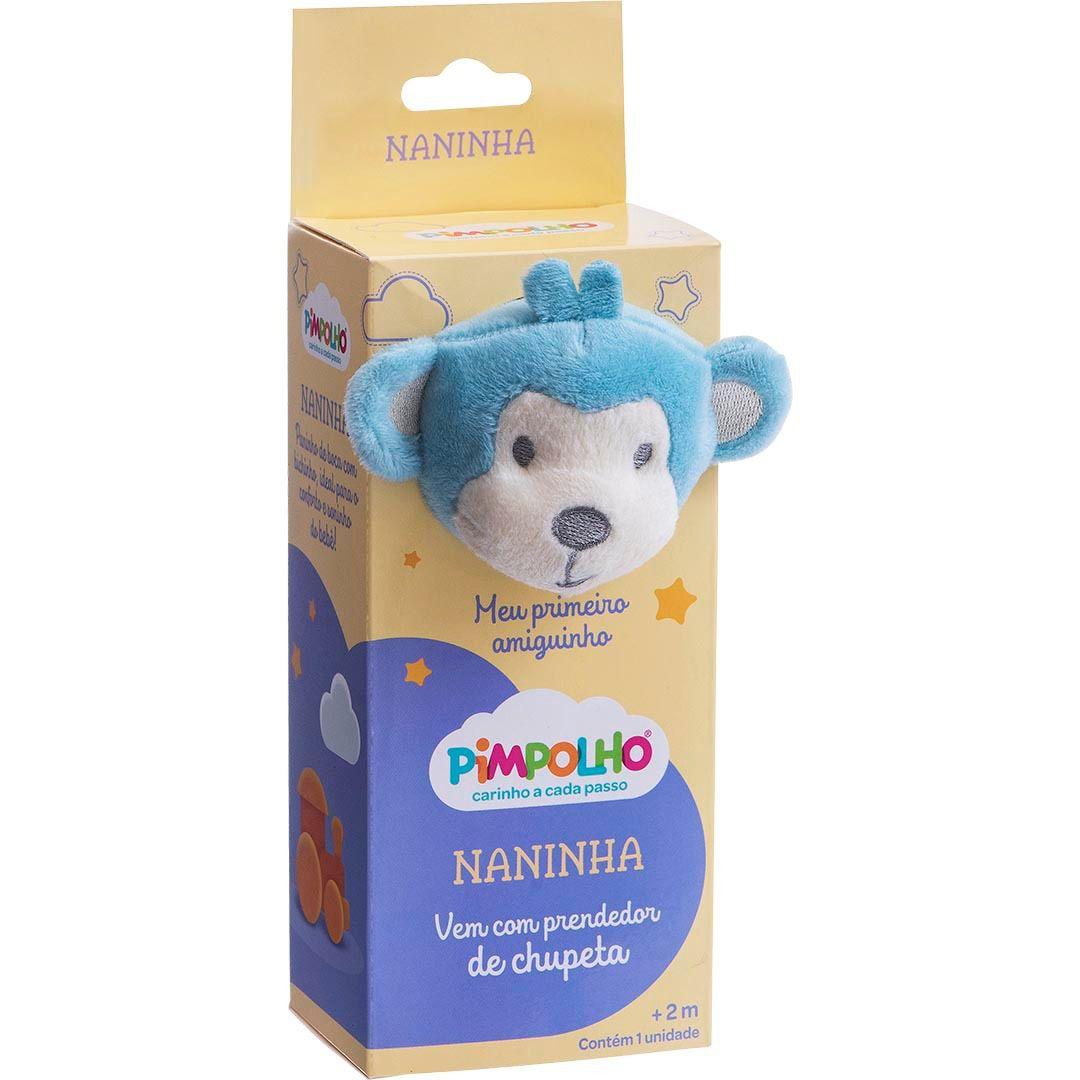 Naninha Macaco Azul Pimpolho