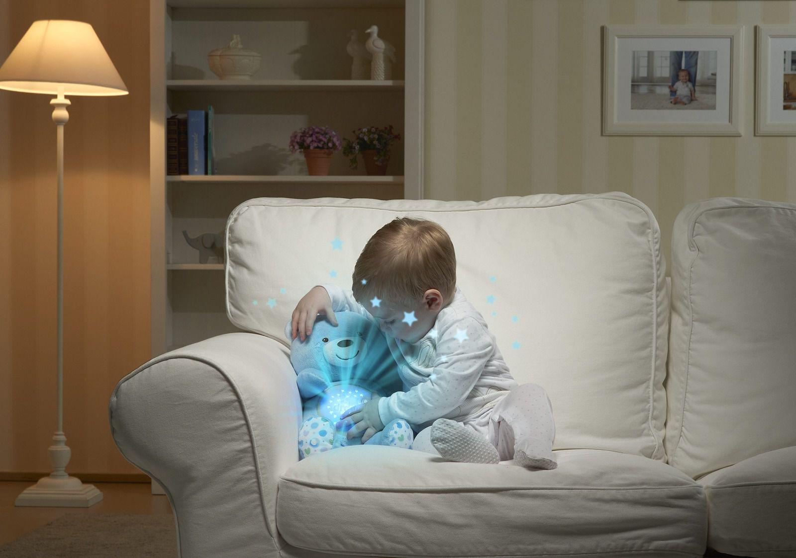 Projetor Bebê Urso Azul Chicco