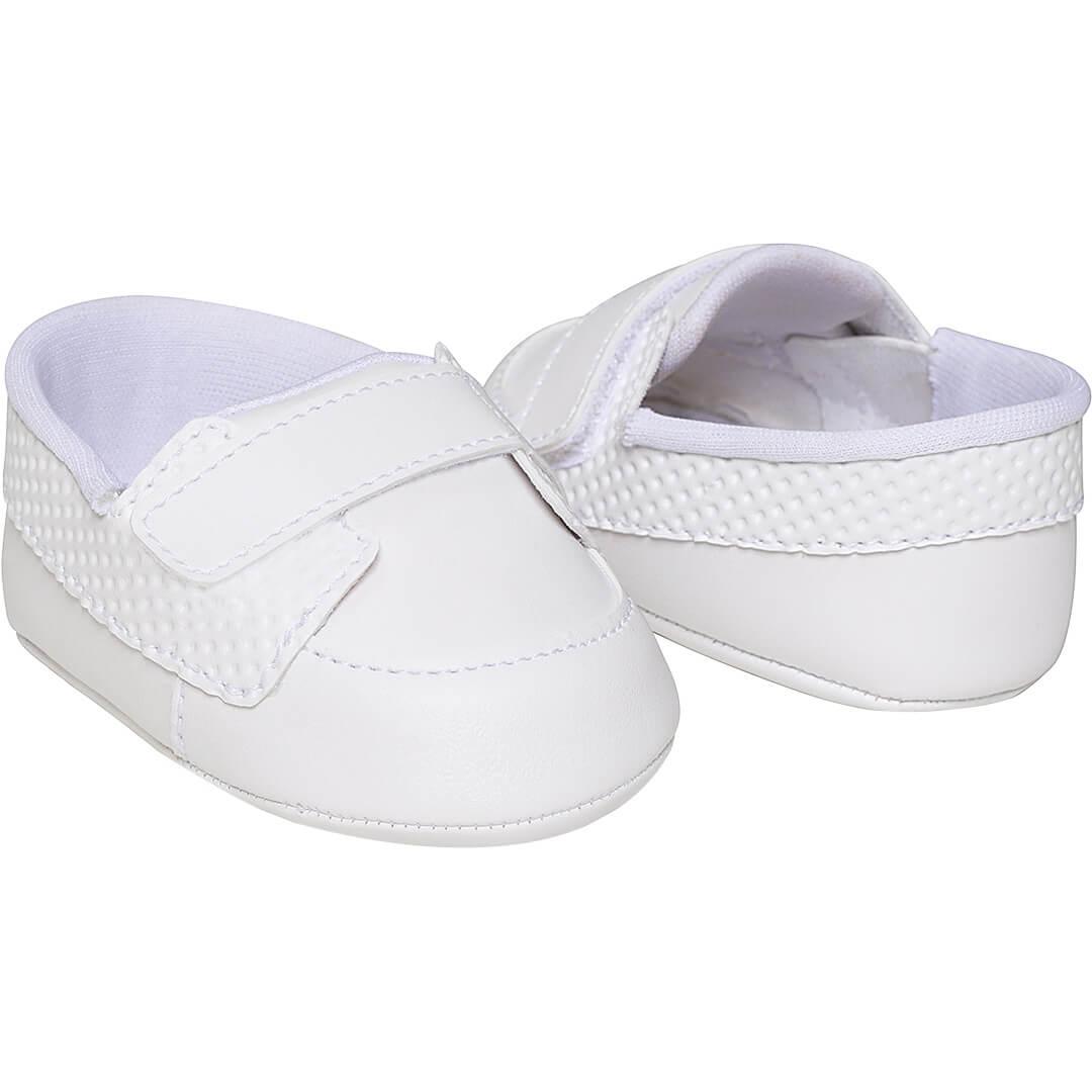 Sapato Pimpolho RN Mocassim Branco