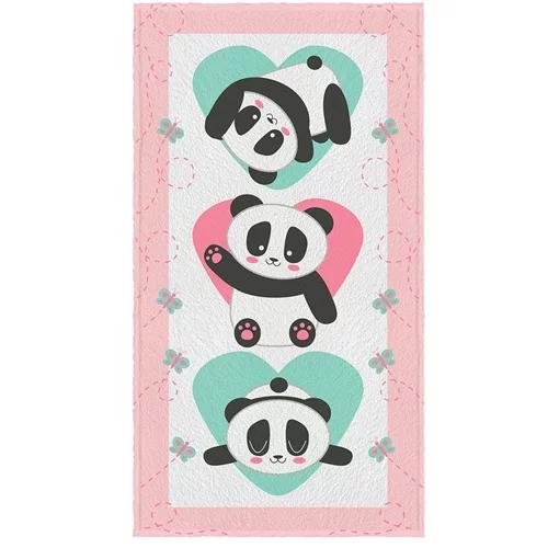 Toalha de Banho Estampada Panda Lepper