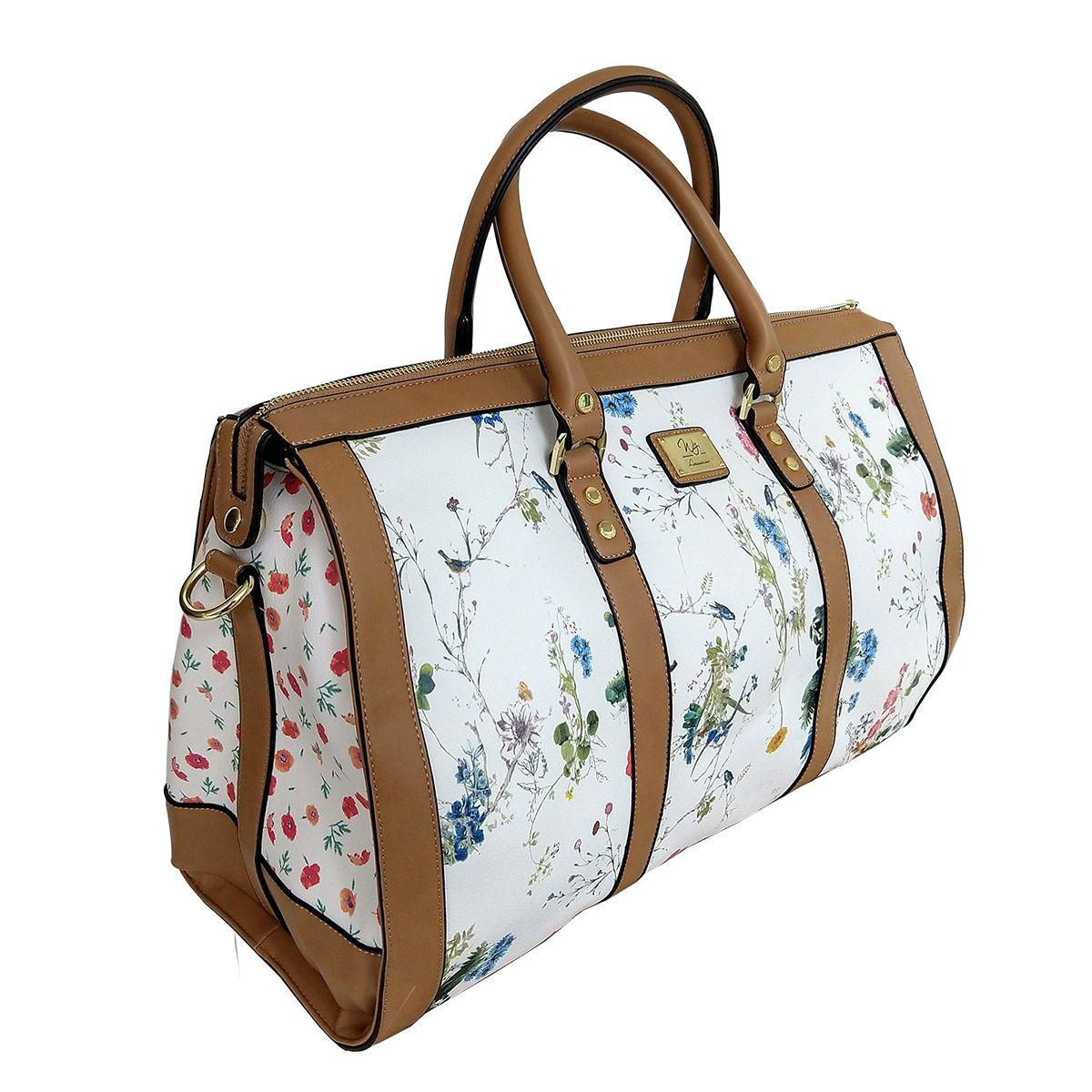 Bolsa de Viagem Floral - WJ