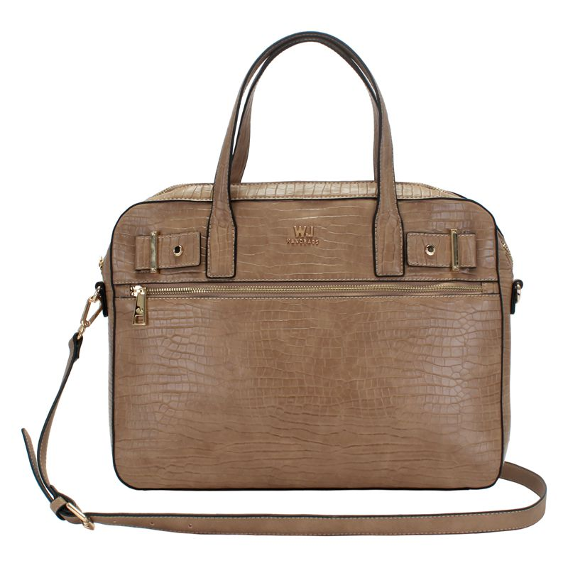 Bolsa Pasta Executiva Laptop Croco - WJ