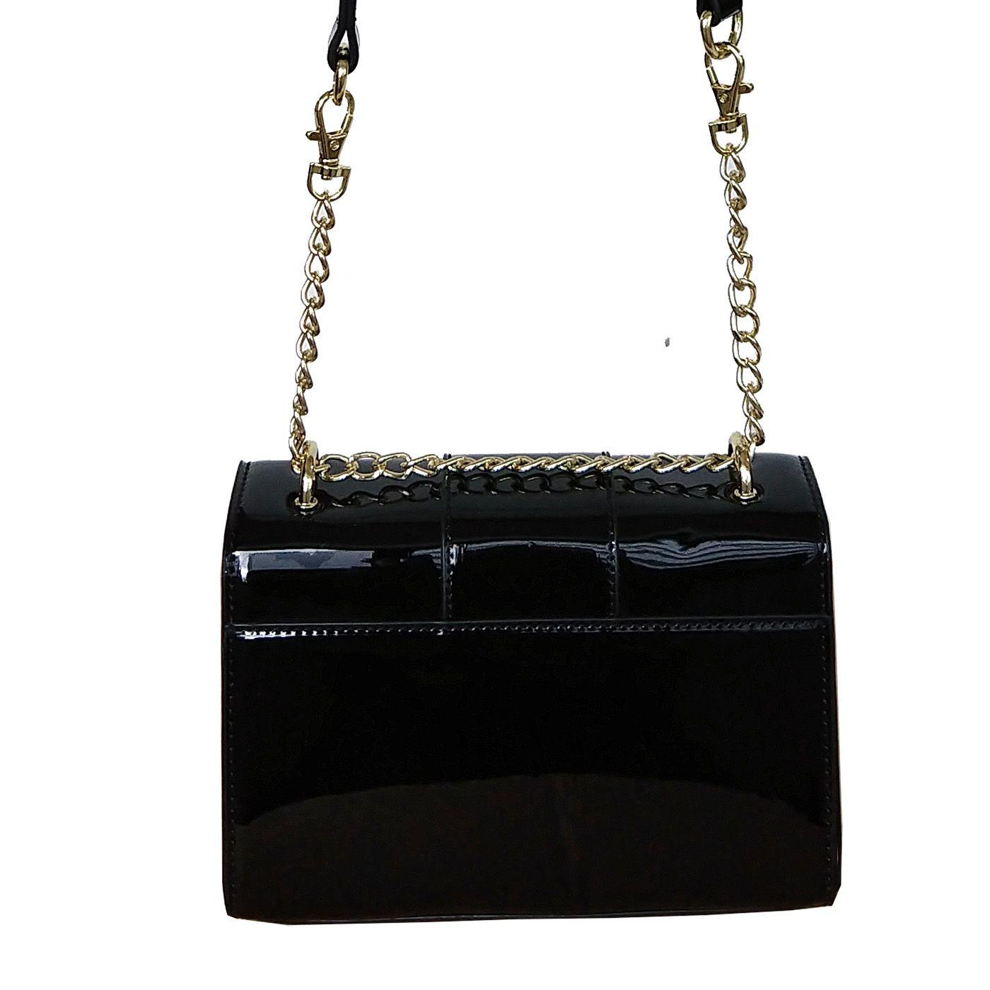 Bolsa Pequena com Alça Corrente Longa - WJ