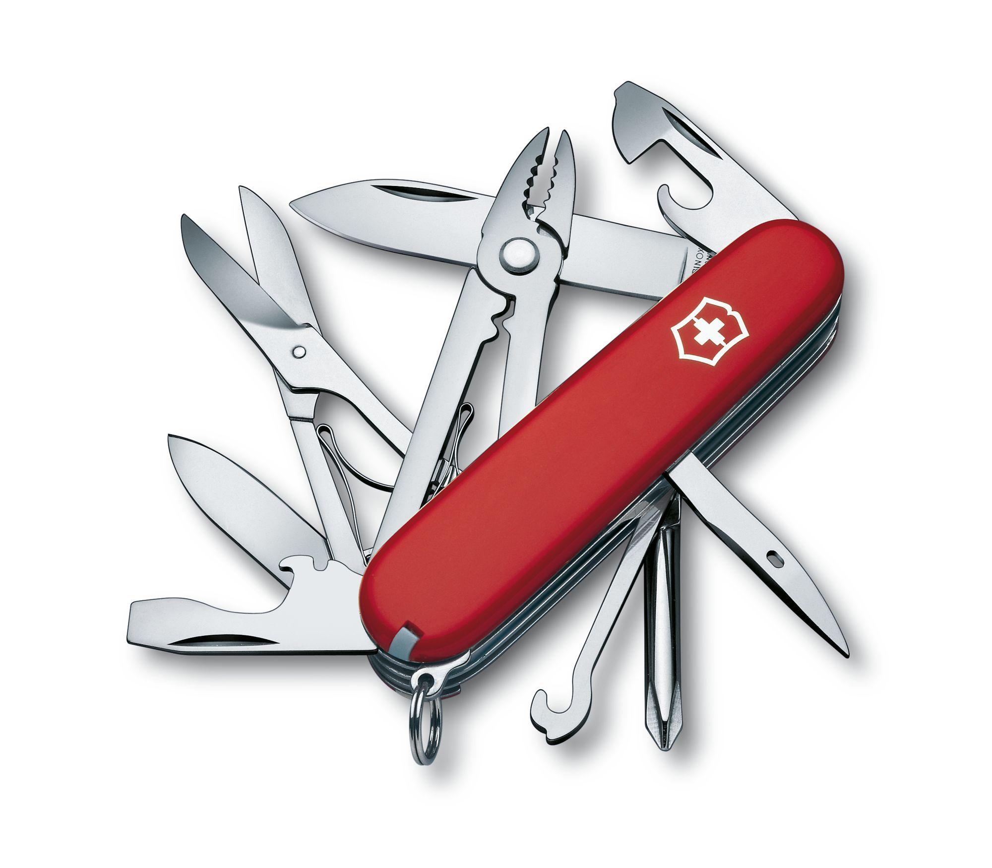 Canivete de bolso com alicate universal - Médio - Victorinox - Vermelho