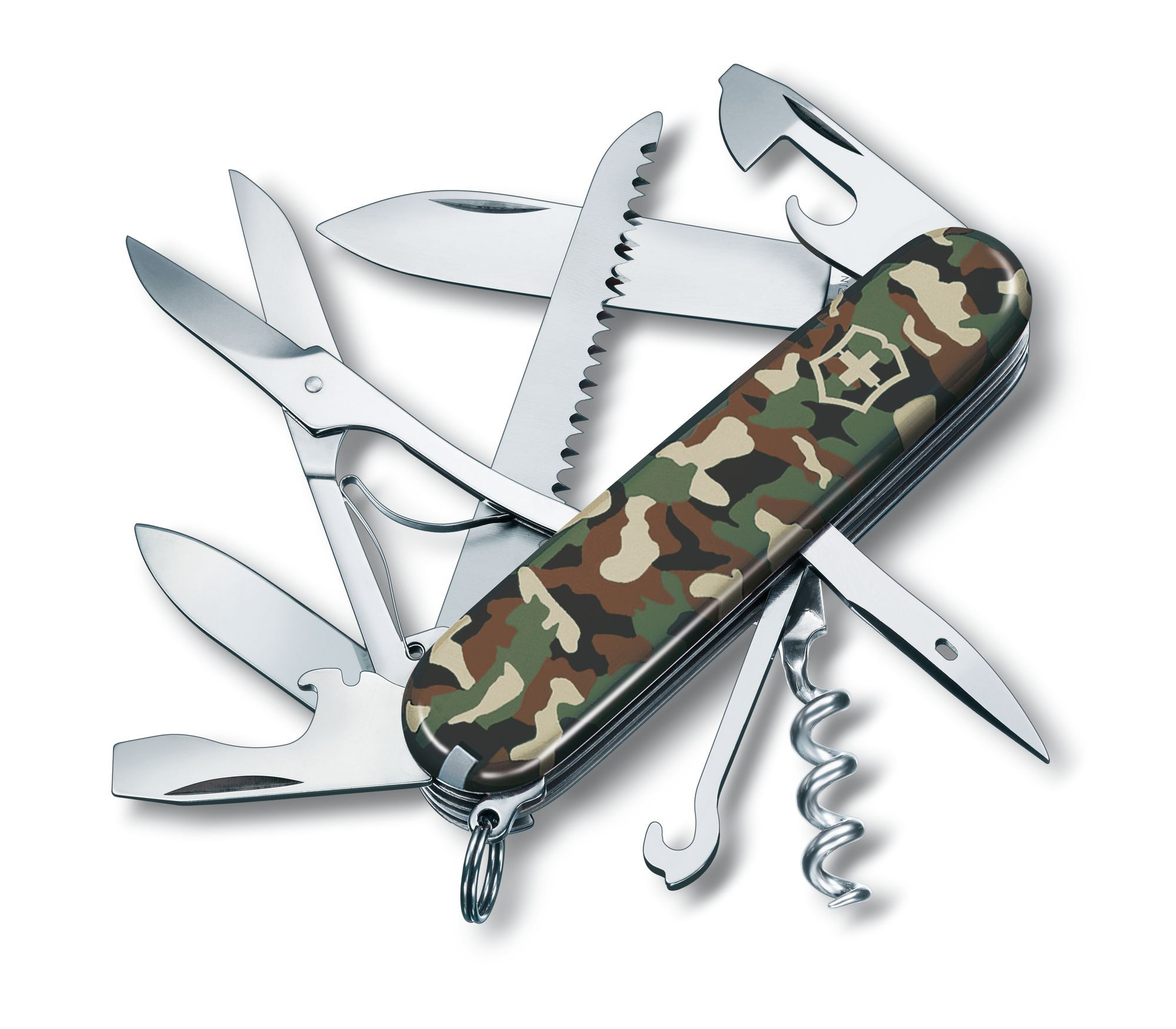 Canivete de bolso para caça Camuflado - Verde Exército - Victorinox