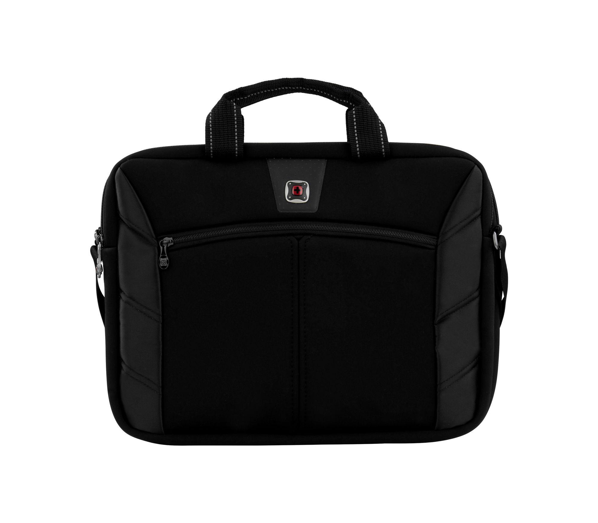 Slimcase para laptop de 16 '' com bolso para tablet  - Preto - Wenger