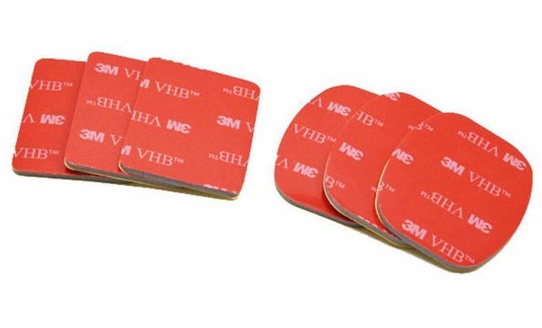 Adesivos para bases 3M - 3 Curvos e 3 Planos