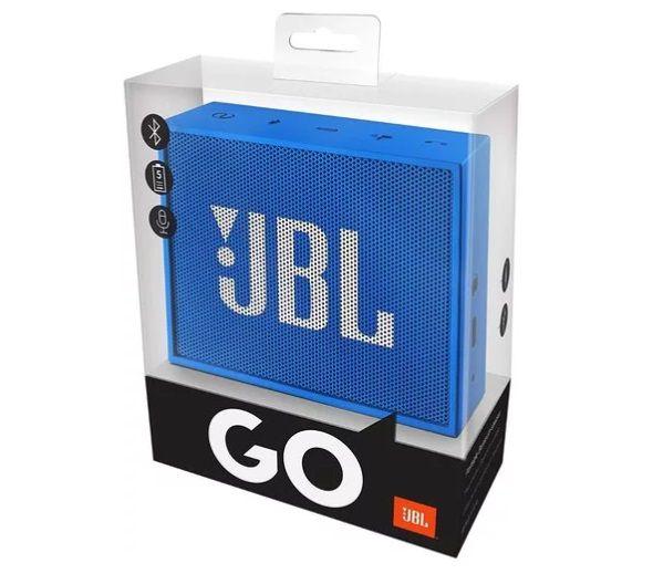 Caixa De Som Jbl Go Flip Speaker Portatil Bluetooth Azul