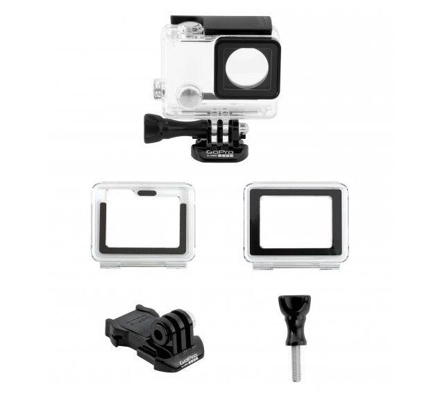 Caixa Estanque GoPro Para Câmeras Hero 4 Black, Hero 4 Silver, Hero 3+, Hero 3 AHSRH-401