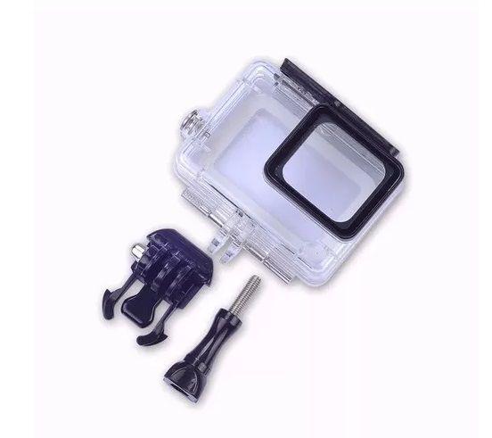 Caixa Protetora Mergulho Estanque Gopro Hero 5 6 7 Black