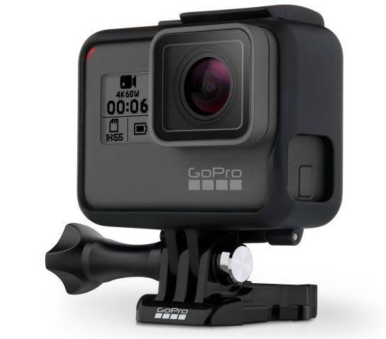 Câmera Digital GoPro Hero 6 Black Edition à Prova D'Água 12.1MP Wi-Fi