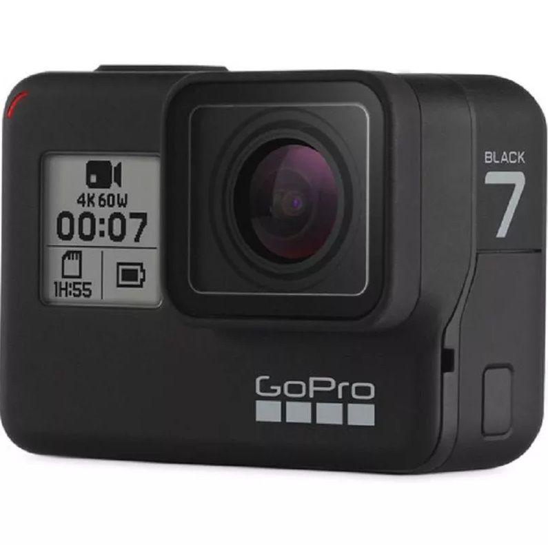 Câmera DigitalGopro Hero 7 Black Câmera Filmadora De Ação 4k Uhd P/ D'água