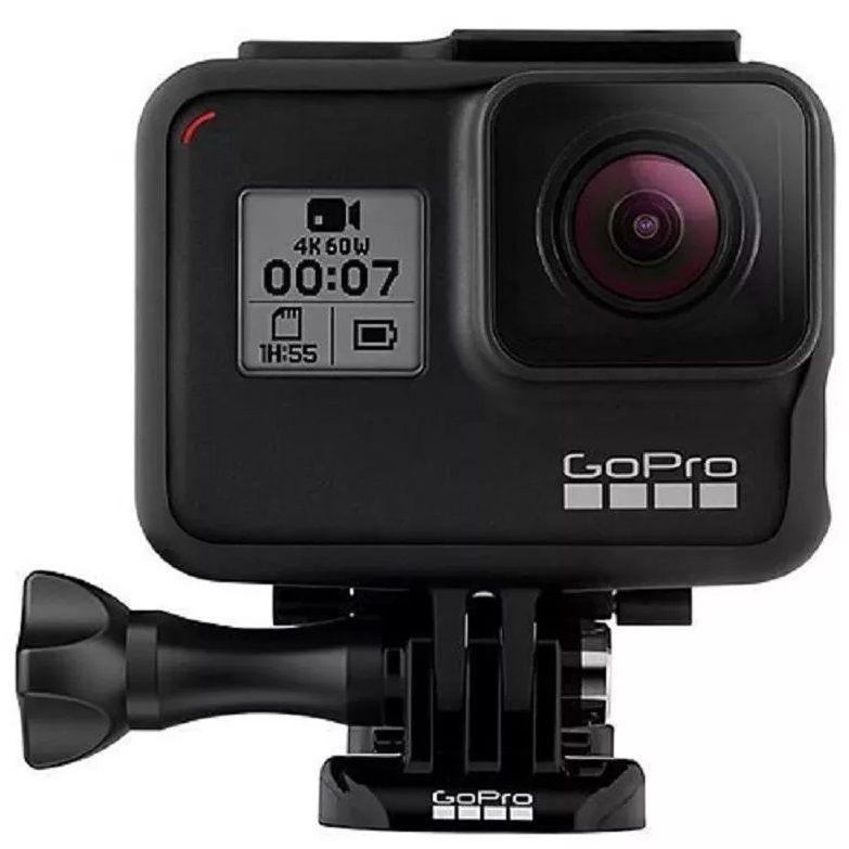 Câmera DigitalGopro Hero 7 Black Câmera Filmadora De Ação 4k Uhd P/ D'água - SEMI NOVA -