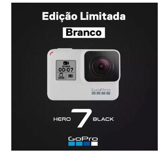 CÂMERA GOPRO HERO 7 BLACK  - SÉRIE ESPECIAL