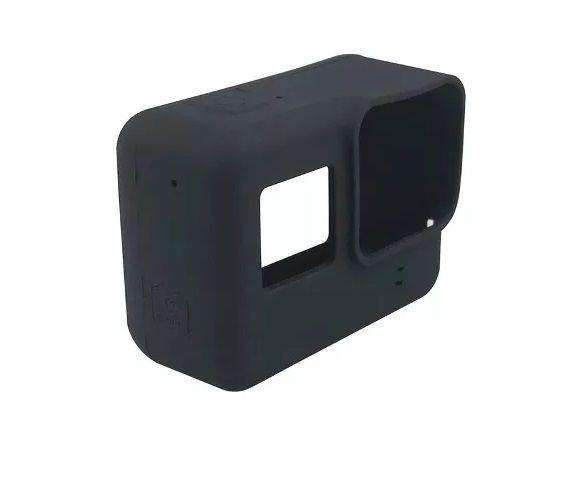 Capa Case Protetora Silicone Para Câmeras GoPro Hero 6 Black e Hero 5 Black