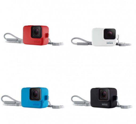 Capa de Silicone + Cordão GoPro Sleeve ACSST-001