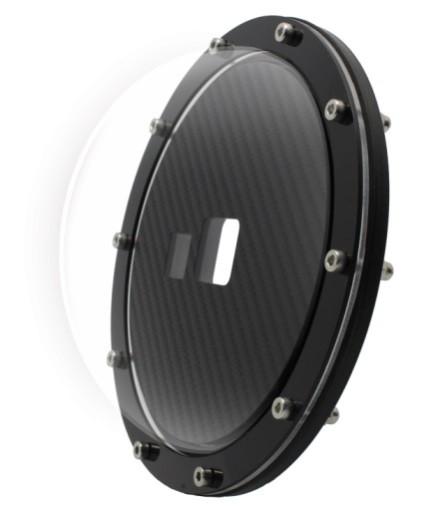 Dome de 6 pol Para Gopro Fusion Max - Meu Dome