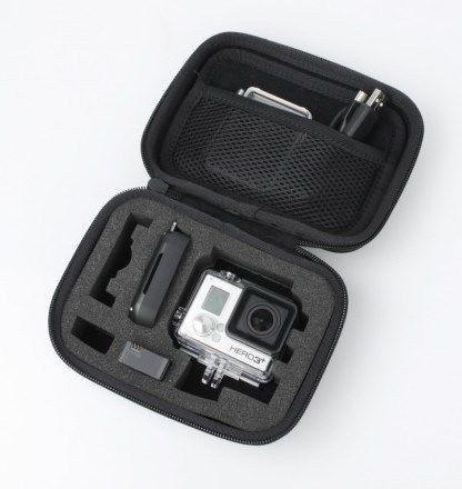 Estojo/Maleta de Proteção Para Câmeras GoPro Hero SJCam Tamanho pequeno