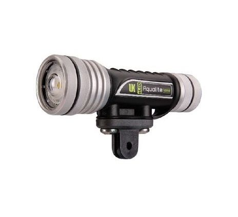 Iluminador Led para GOPRO  - modelo AQUALITE VIDEO 90 -PRETO - UK PRO