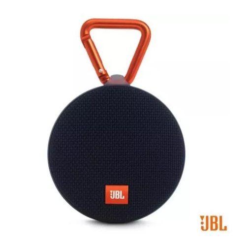 Caixa JBL Clip 2 Bluetooth Preta 3w Rms