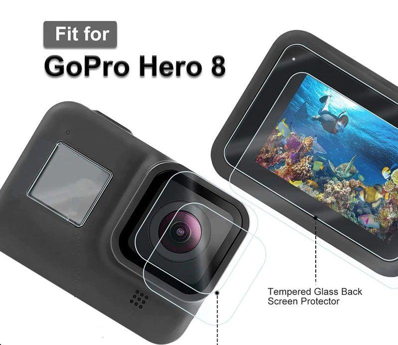 Película Vidro para Gopro hero 8 Black