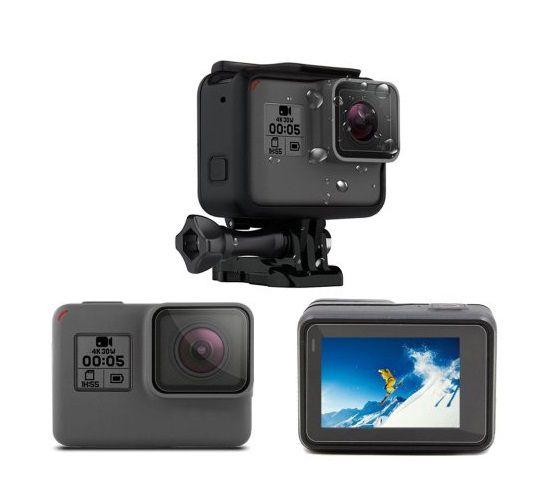 Películas ABS Para Lente Tela Lcd GoPro Hero 5 Black e Hero 6 Black Hero 7 Black