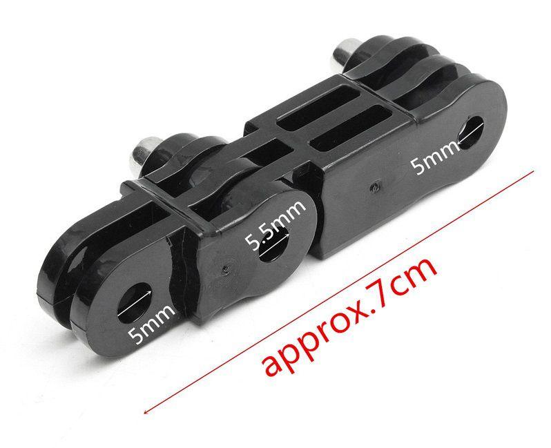 Suporte Articulavel Pivot Reto mesma direção - Pequeno e Médio