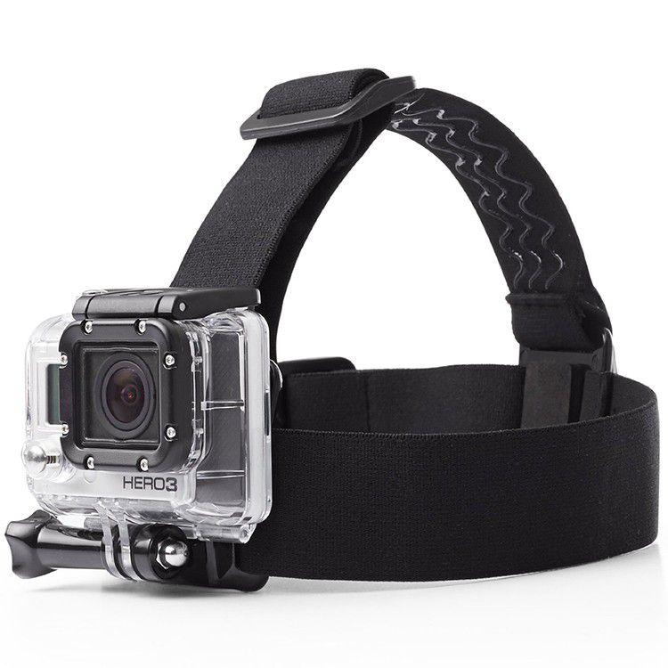 Suporte de Cabeça Para Câmeras GoPro e Similares