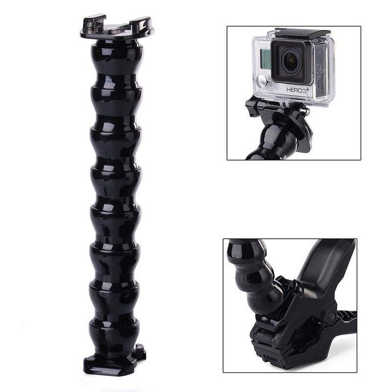 Suporte de Garra Flexível Jaws Para Câmeras de Ação GoPro Hero Xiaomi