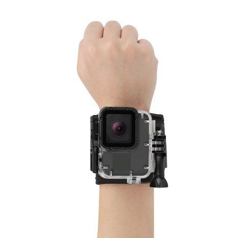 Suporte de Pulso para GoPro em Neoprene