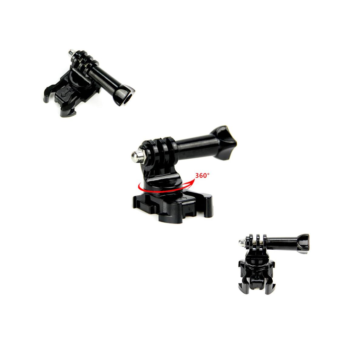 Suporte Engate Rápido Quick Release 360 Graus Câmeras GoPro e Similares