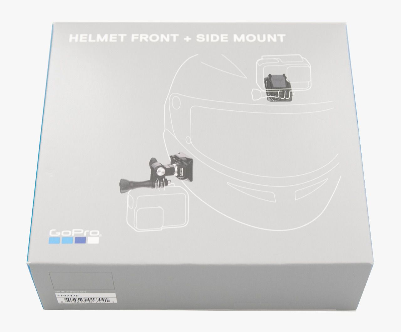 Suporte Frontal e Lateral Para Capacete Helmet Front + Side Mount GoPro AHFSM-001