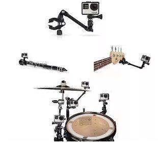 Suporte Instrumento Musical Ajustável Gopro The Jam AMCLP-001