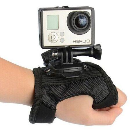 Suporte Luva 360º Wrist Suporte Mão para Câmeras GoPro Sjcam